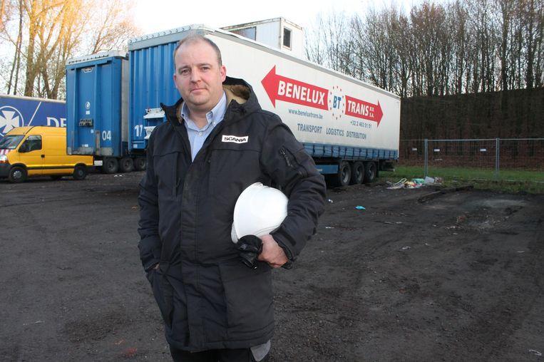 Jan Van den Bosch, zaakvoerder van Benelux Trans, kan zich vinden in de maatregel van de gemeente.