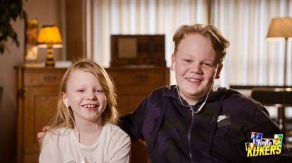 Kinderen Tine Embrechts en Sven De Ridder stelen de show in 'Beste Kijkers'
