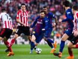 Alcacer en Messi bezorgen Barcelona winst op Bilbao