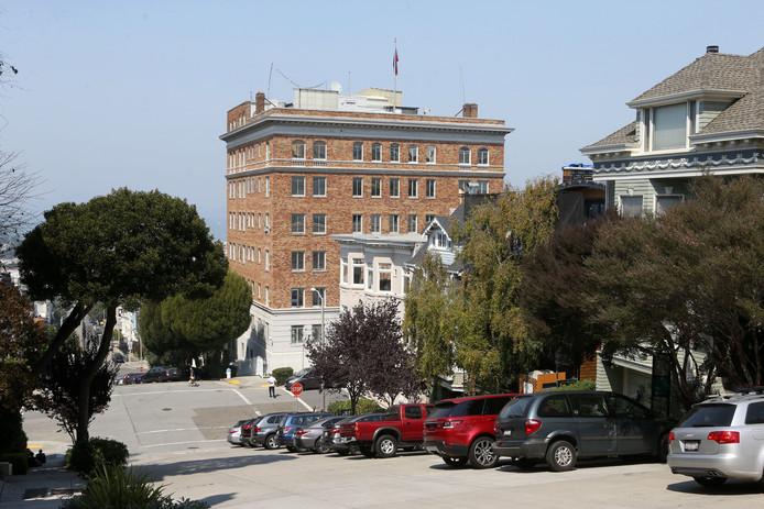 Het Russische consulaat in San Francisco.