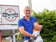 Clubicoon Ronald de Koning (38) neemt afscheid bij Best Vooruit: 'Zondag zal het moeilijk zijn'