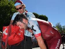 Etappe Tour Down Under ingekort vanwege extreme hitte