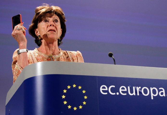 Als eurocommissaris voor telecom spande Neelie Kroes zich jaren in voor een einde aan de dataroaming in de EU