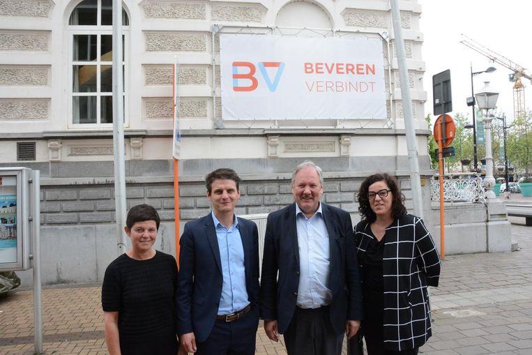 Het nieuwe logo en de slagzin van Beveren werd gisteren officieel onthuld.