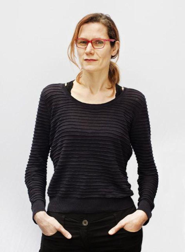 Karin Wolfs, freelance filmjournalist. Beeld