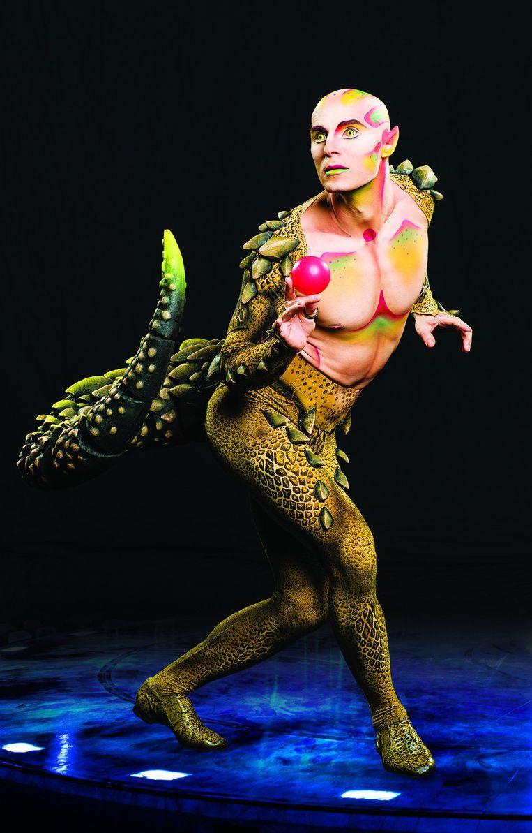 Amaluna van Cirque du Soleil. Beeld Yanick-Dery