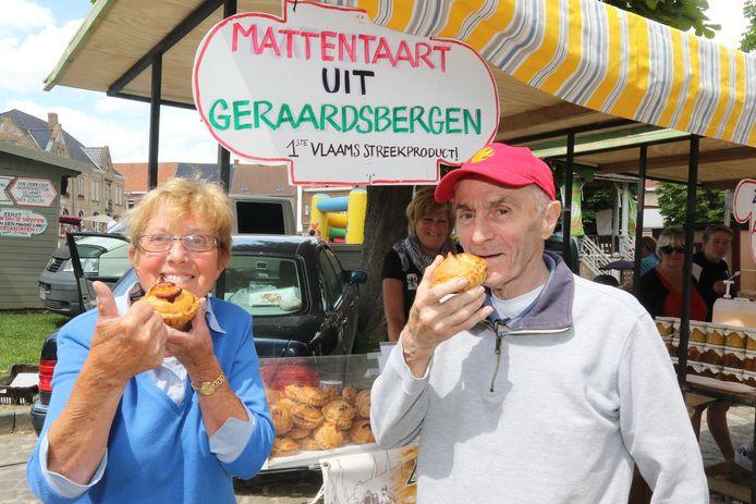 De mattentaarten uit Geraardsbergen zijn er al sinds het begin bij.