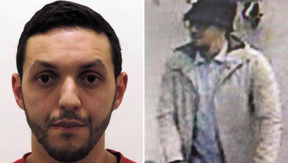 Mohamed Abrini, de man met het hoedje, speelde ook een rol bij de aanslag van 22 maart op Brussels Airport.