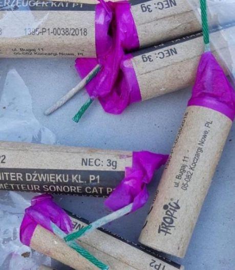 Illegaal vuurwerk in schuurtje Arnhemse woning: 109 nitraten gevonden