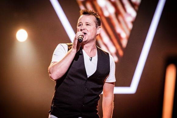 Nick Beernaert is te zien in The Voice op vtm