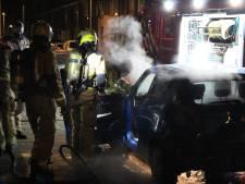 Lachgastank explodeert in kofferbak in Moerwijk