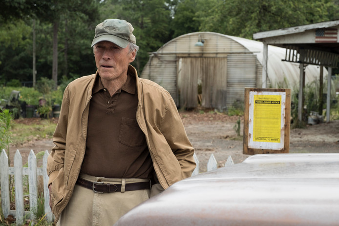 Clint Eastwood, in de film The Mule.