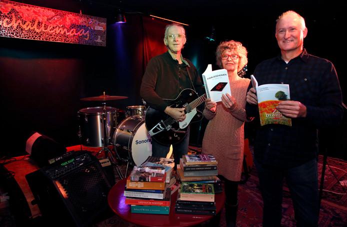 Lenno Spaans, See Spaans en Wim Hendrikse zijn initiatiefnemers van Het Zeeuws Klankboek.