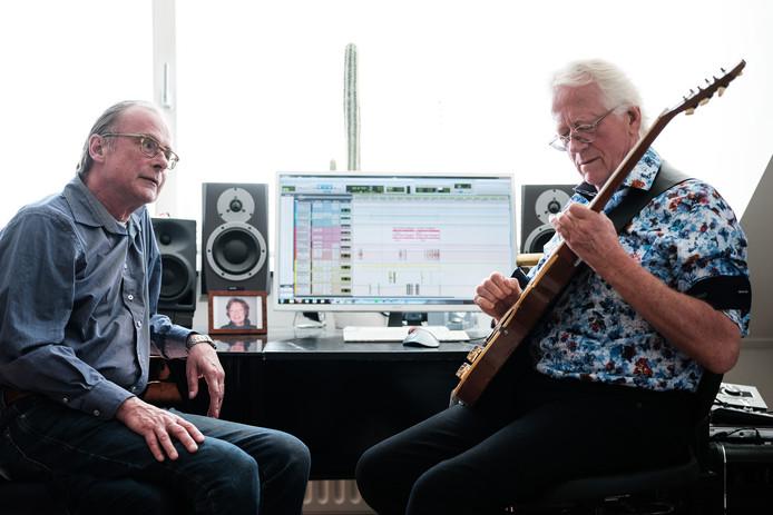 Bernhard Reinke (rechts) en Erik Hagelstein. Foto Jan van den Brink