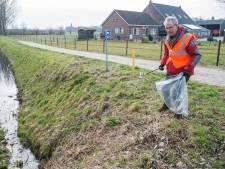 Vrijwilligers maken Waspik schoon: 'Helaas blijft dit hard nodig'