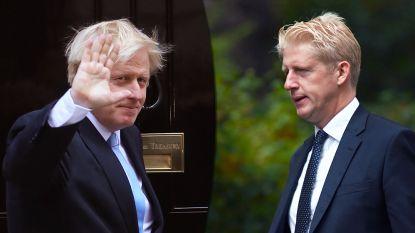 """Broer Boris Johnson stapt op: """"Verscheurd tussen trouw aan familie en nationaal belang"""""""