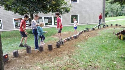 Nieuw palenparcours en vernieuwde kleuterklasjes bij basisschool Molenveld