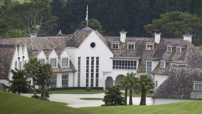 Dotcom Mansion, het huis van Kim Dotcom. Beeld reuters