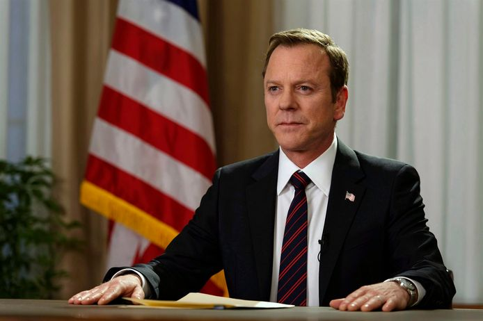 Still van de Netflix-serie Designated Survivor.
