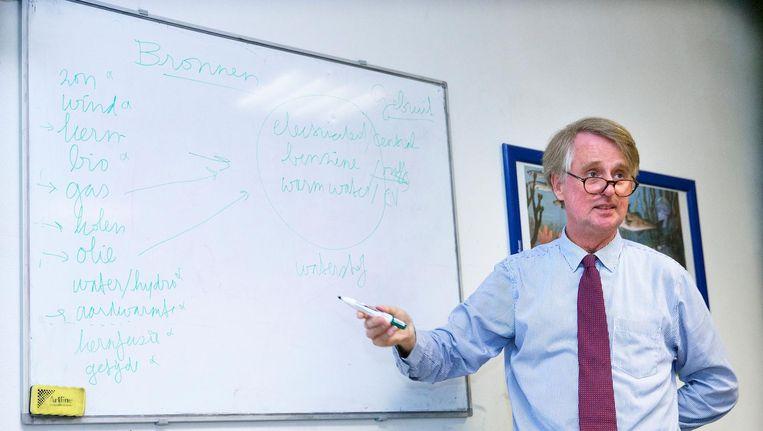 Benschop in zijn tijd als president-directeur van Shell. Beeld anp