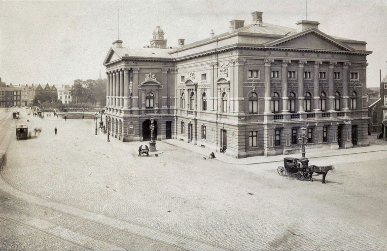 Stadsschouwburg, ca 1885. Beeld Stadsarchief