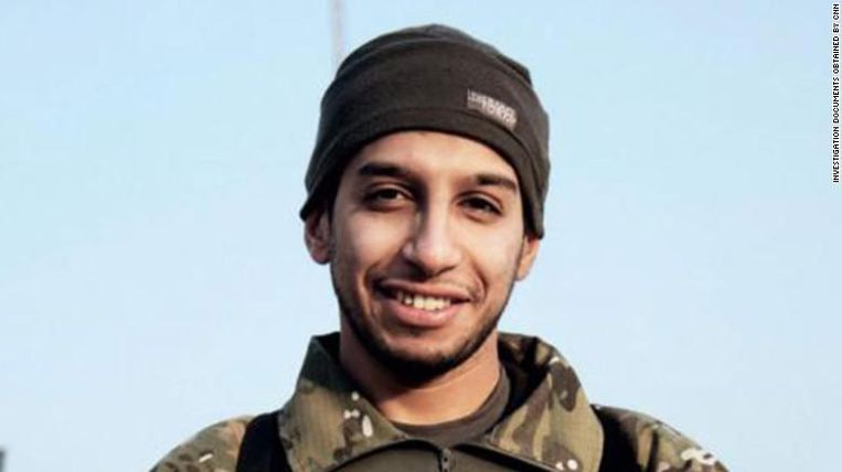 De leider van de terreurcel die in Parijs had toegeslagen, Abdelhamid Abaaoud.