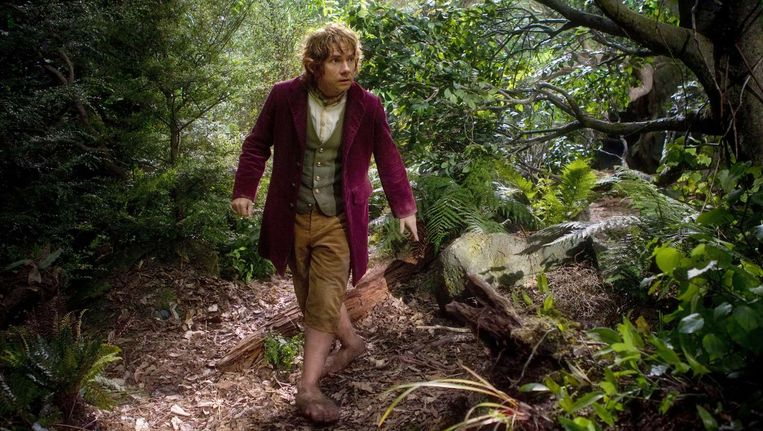 Martin Freeman als Bilbo Baggins in The Hobbit: An Unexpected Journey Beeld afp