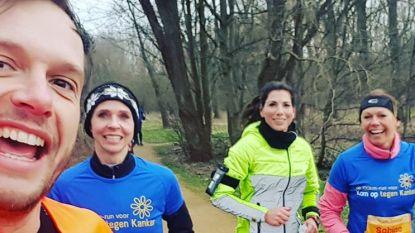 Bv's spotten tijdens 100km-run voor Kom op tegen Kanker