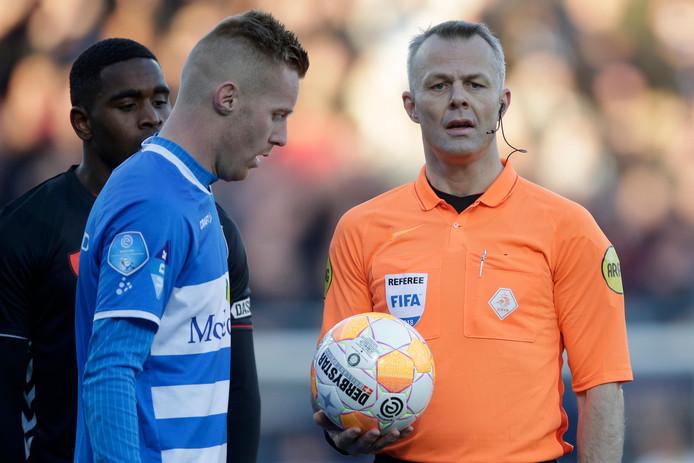 """Mike van Duinen bezorgde PEC Zwolle met twee goals in de heroïsche slotfase tegen Utrecht de derde driepunter op rij: ,,Als je dit voor de winterstop had gezegd, had ik je wakker geschud."""""""