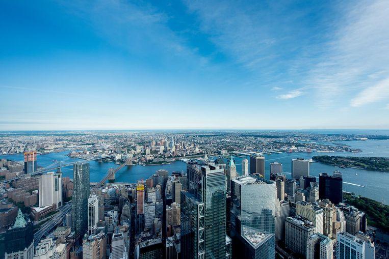 'New Yorkers zijn heel vriendelijk, ze hebben alleen de verkeerde reputatie.' Beeld getty