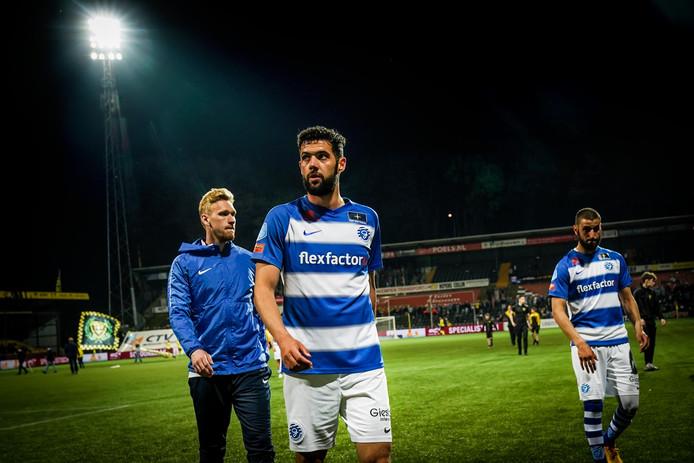 De Graafschap-verdediger Sven Nieuwpoort staat op scherp.