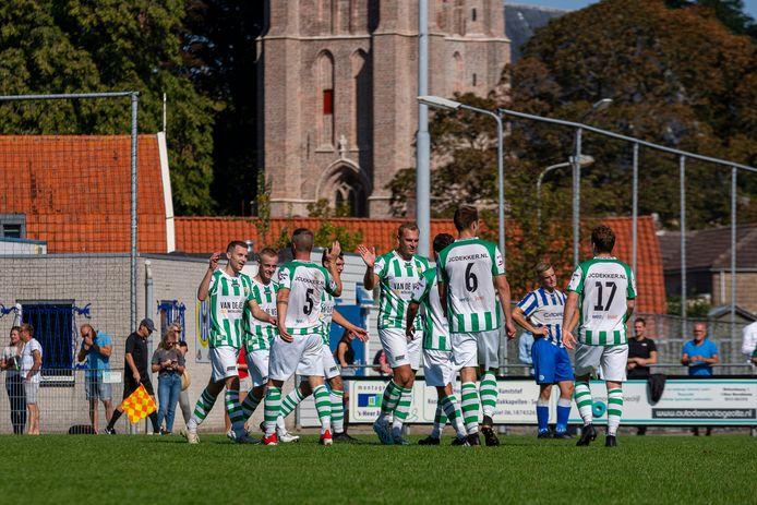 Kloetinge won zaterdag met 4-0 van Nieuw-Lekkerland.