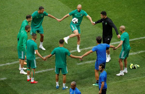 Marokko houdt de moed erin voor de wedstrijd tegen Portugal – wellicht tegen beter in