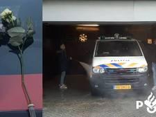 Tycho en Wessel mogen een politie-auto wassen voor een 'boete' en twee rozen