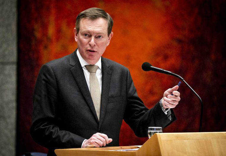 Bruno Bruins, minister voor Medische Zorg. Beeld ANP