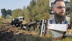 """Trucker Jerry was getuige van dodelijk ongeval E17 Beervelde: """"Gelukkig kon ik op laatste nippertje nog enkele meters vooruit rijden"""""""