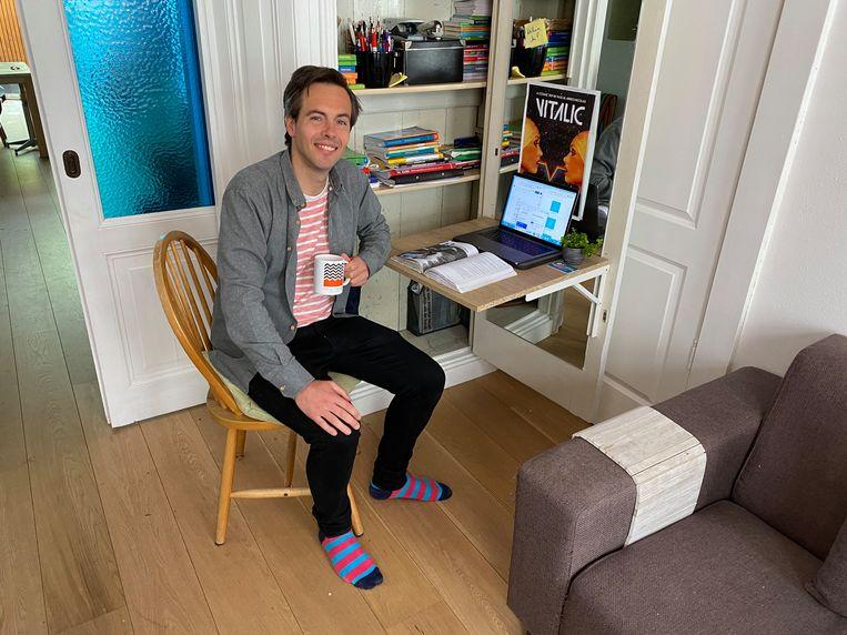 Jan Veering: 'Ik plan elke dag een moment in om lekker te rennen in het park' Beeld Jan Veering