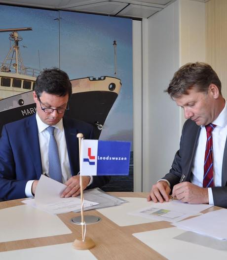 Nieuw kantoor Loodswezen in Vlissingse Binnenhaven
