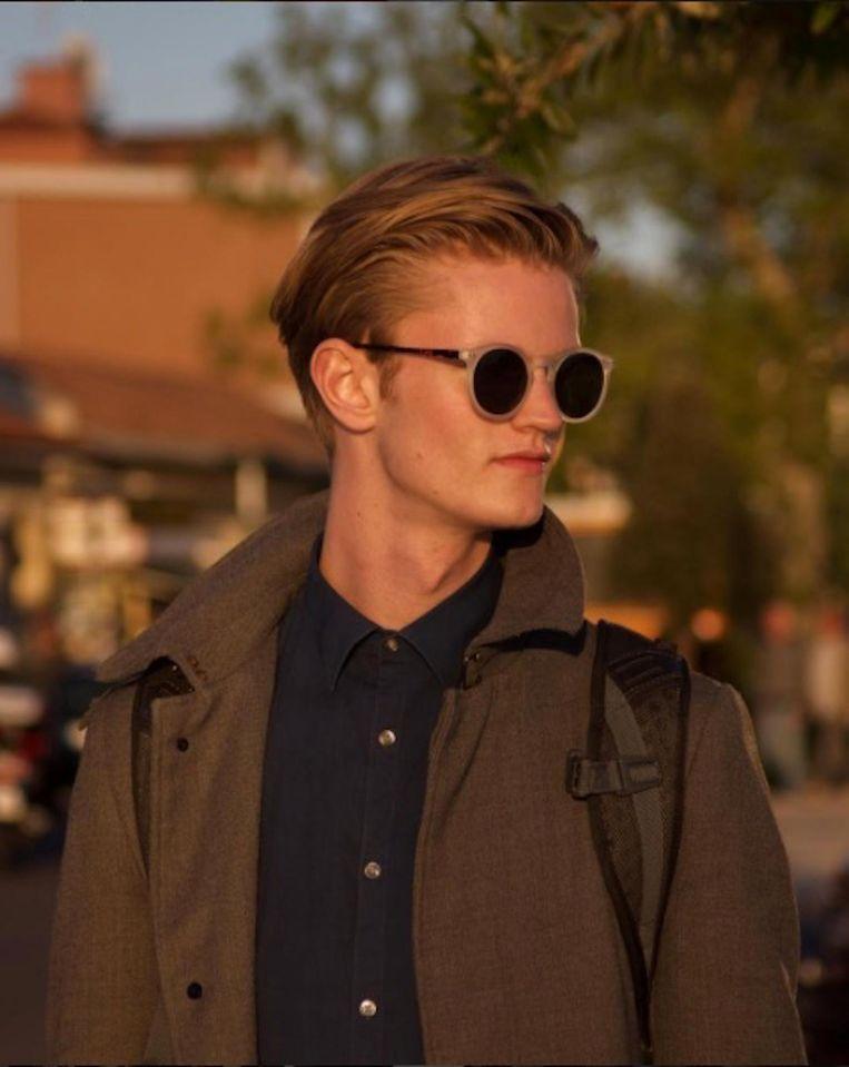 Daniel Binsbergen wil na zijn examens misschien een tijdje voor modellenwerk naar New York. Beeld