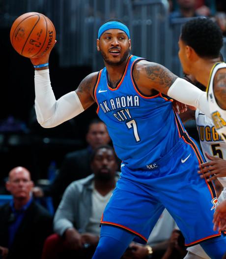NBA-ster Anthony naar Houston Rockets