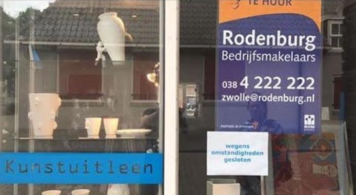 Kunstuitleen in Zwolle