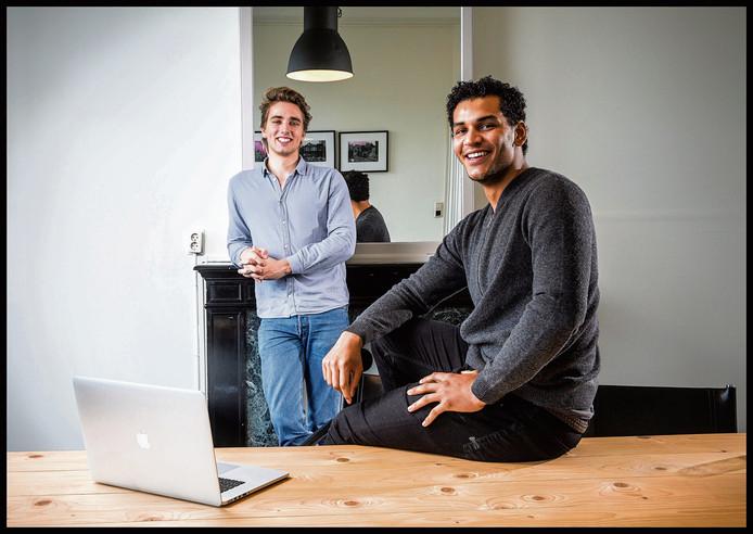 Milan Daniels en Max Klijnstra, de ondernemers achter Otrium.