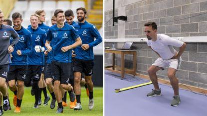 IN BEELD: Zes eersteklassers hervatten trainingen, Anderlecht blaast verzamelen voor medische testen