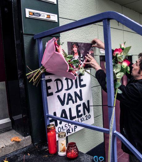 Oude huis in Nijmegen van rockster Van Halen wordt soort bedevaartsoord: 'Denk dat het straks vol ligt met bloemen'