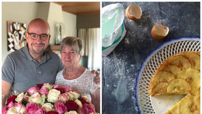 """Sven Ornelis deelt het recept voor zijn favoriete familiegerecht: """"Roger Van Damme gaf onze appeltaart zelfs heuse sterren-make-over"""""""