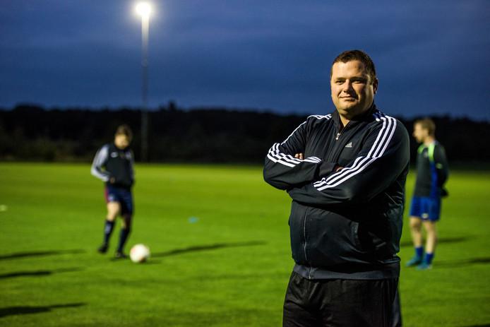 Hulsel-trainer Joris Tuns
