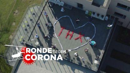 'De Ronde tegen Corona': zondag vliegen HLN en VTM over heel Vlaanderen om jouw boodschap live te delen