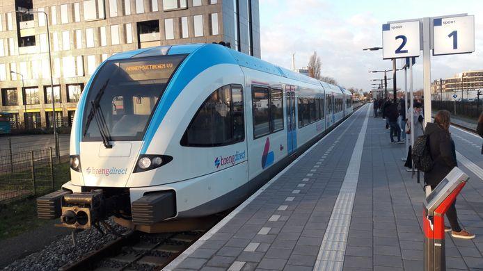 Een Breng-trein in Doetinchem.