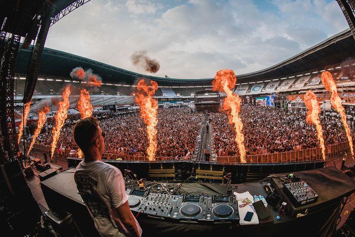 DJ Nicky Romero on tour