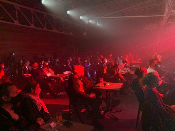 Het concert van The Mudgang afgelopen weekend trok 124 muziekliefhebbers.